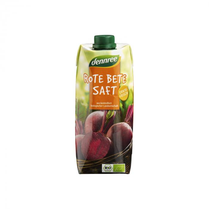 Suc de sfecla rosie BIO VEGAN Dennree 500ml [0]