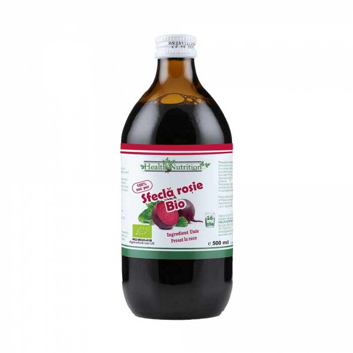 Suc de Sfecla rosie Pur Bio 500 ml [0]