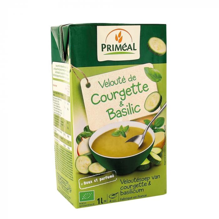 Supa crema cu dovlecei cu busuioc 1L [0]