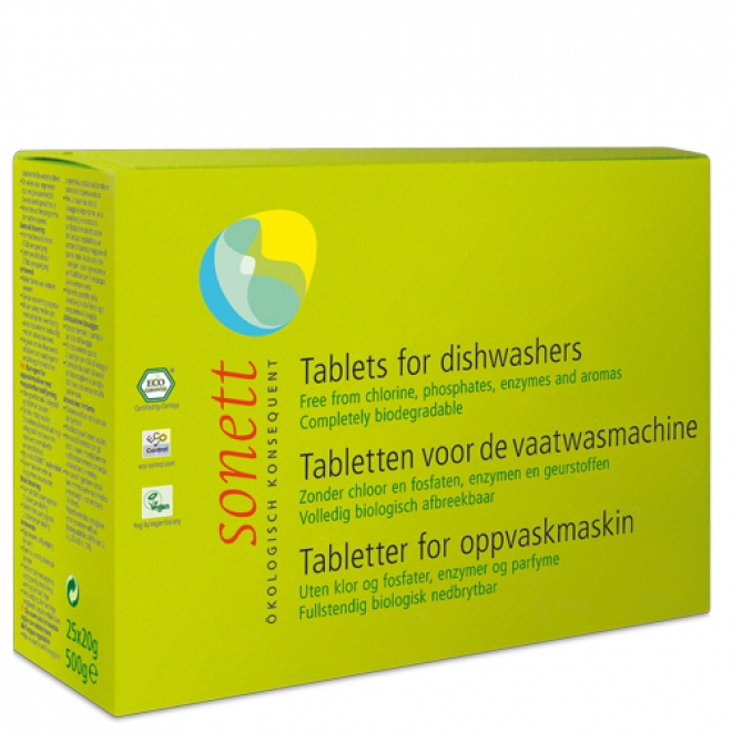 Tablete ecologice pt. masina de spalat vase 500g (25 buc x 20g) [0]