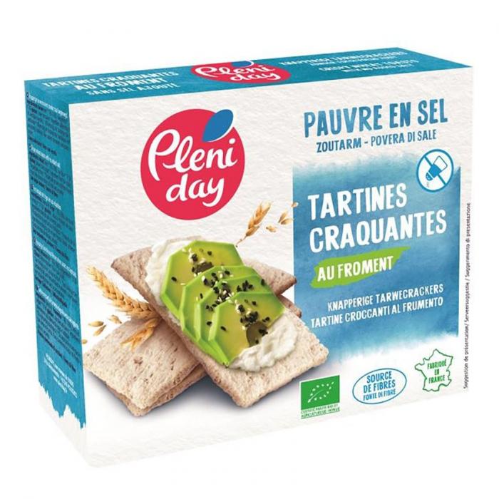 Tartine crocante din grau si secara fara sare 150g [0]