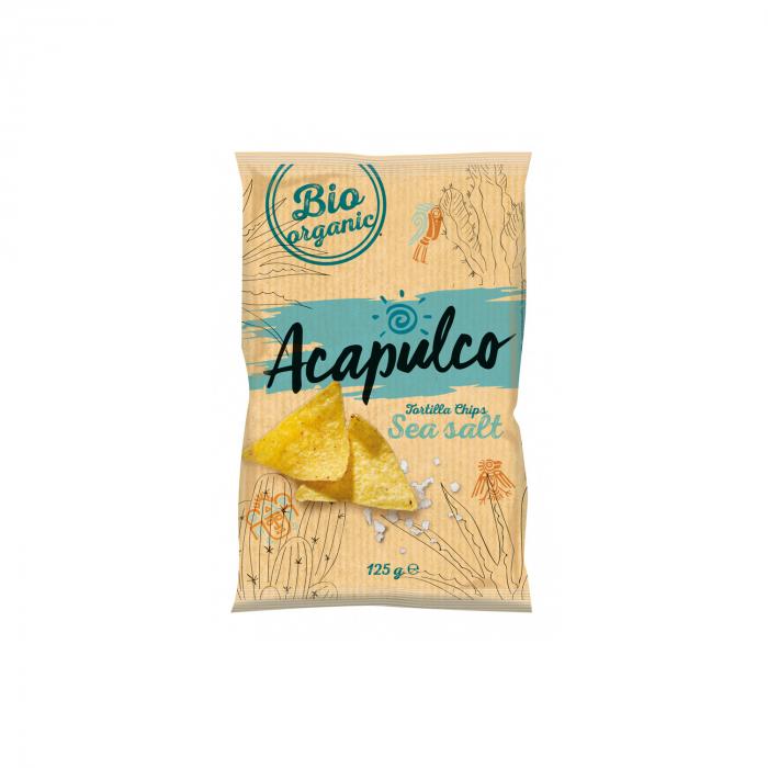 Tortilla chips natur 125g [0]