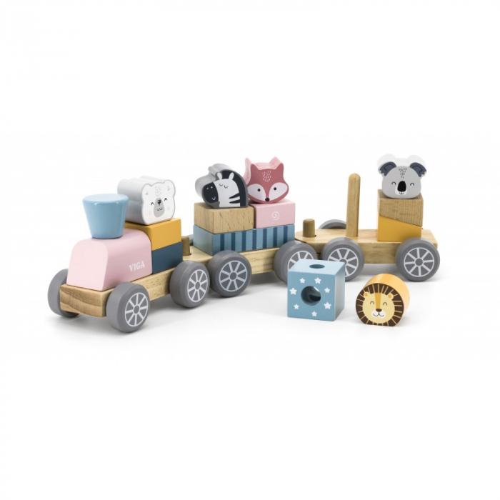 Trenulet modular cu animale, PolarB Viga [3]
