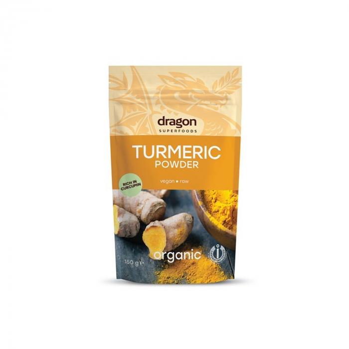 Turmeric ( curcuma ) pudra raw BIO 150g  [0]