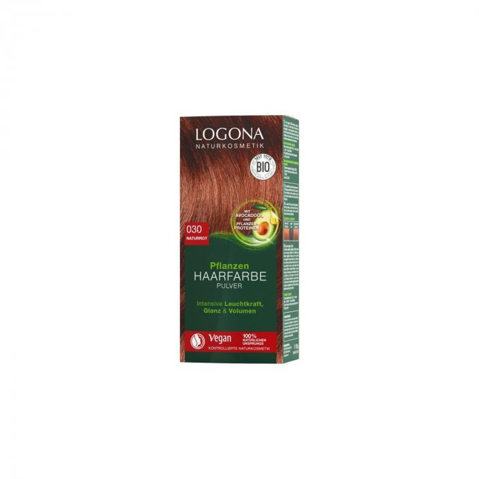 Vopsea de par 100% Naturala, 100 g roscat natural - nuanta 030 [0]