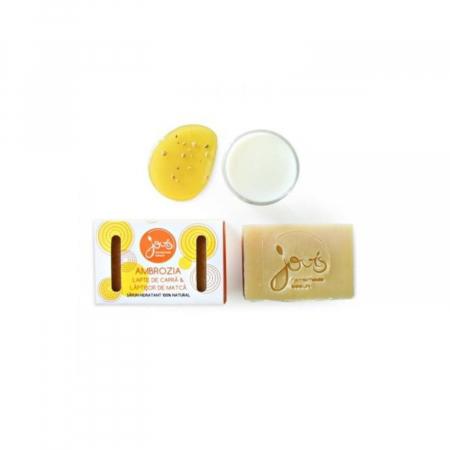 Ambrozia - sapun cu lapte de capra si laptisor de matca [1]