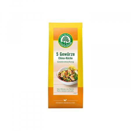 Amestec Bio din 5 Condimente Bucataria Chinezeasca, 40G Lebensbaum
