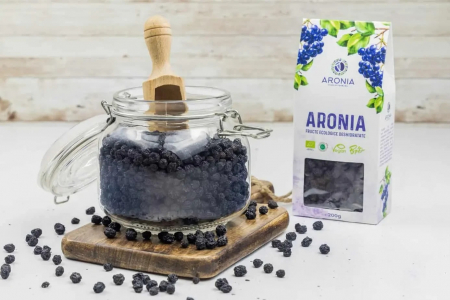 Aronia fructe ecologice deshidratate 200g [2]