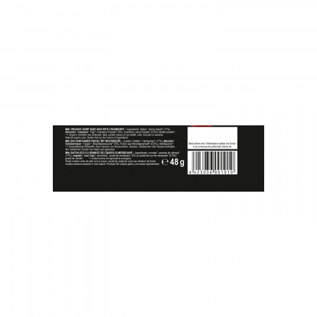 Baton din seminte de canepa cu merisoare ECO 48g [2]