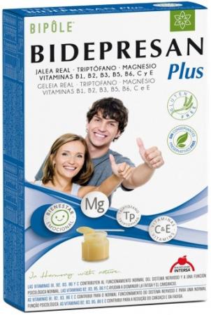 BIDEPRESAN PLUS - formula naturala pentru BUNASTARE EMOTIONALA 20X15ML [0]