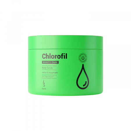 Body Scrub cu Clorofila DuoLife Beauty Care 200 ml