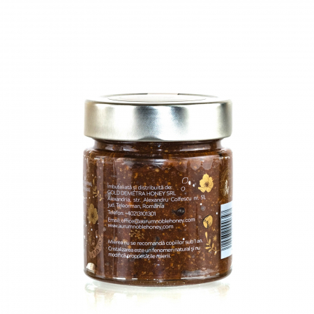 Bohemian Rhapsody Crema de miere cruda poliflora cu alune de padure, pudra de roscove si sare de mare 300g [1]