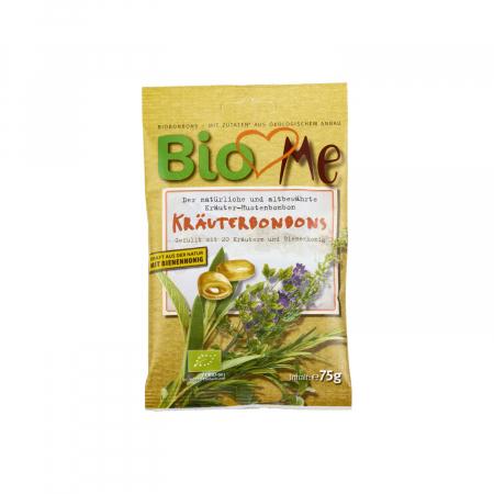 Bomboane BIO cu plante si miere BIO Loves Me 75g [0]