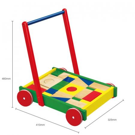Cadru pentru mers multifunctional Viga cu cuburi [2]