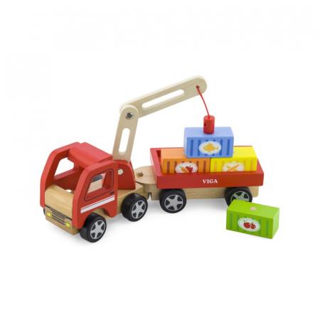 Camion de marfa cu elevator magnetic [1]