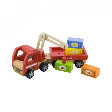 Camion de marfa cu elevator magnetic [2]