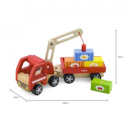 Camion de marfa cu elevator magnetic [5]