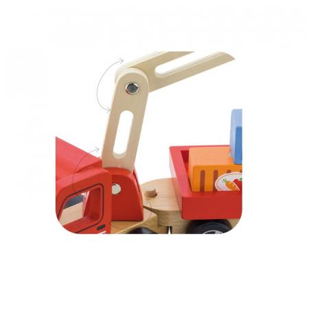 Camion de marfa cu elevator magnetic [3]