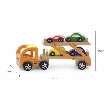 Camion transportor cu 4 masinute [1]