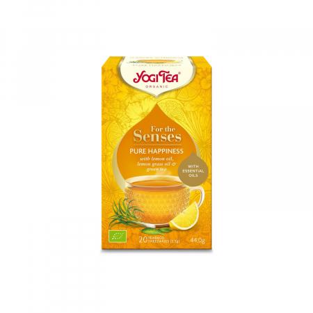 Ceai cu ulei esential, fericire pura, BIO 44g Yogi Tea [0]