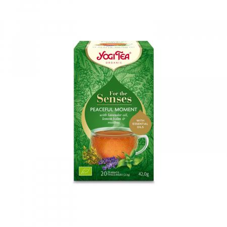 Ceai cu ulei esential, momente linistite, BIO 42g Yogi Tea [2]