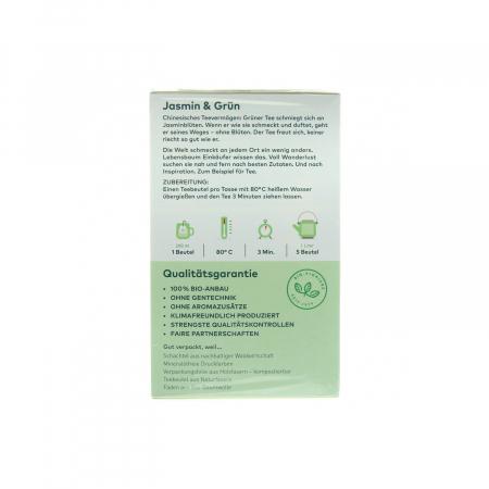 Ceai verde Jasmin Lebensbaum 30g [1]