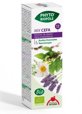 CEFA - formula cu extracte BIO din plante pentru DURERI DE CAP, CEFALEE, 50ml cu picurator [1]