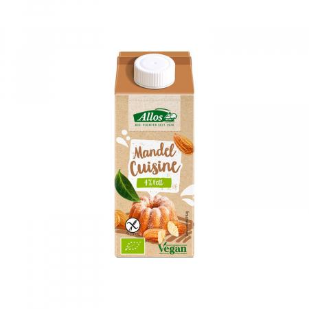 Crema de migdale lichida pentru gatit FARA GLUTEN 200ml