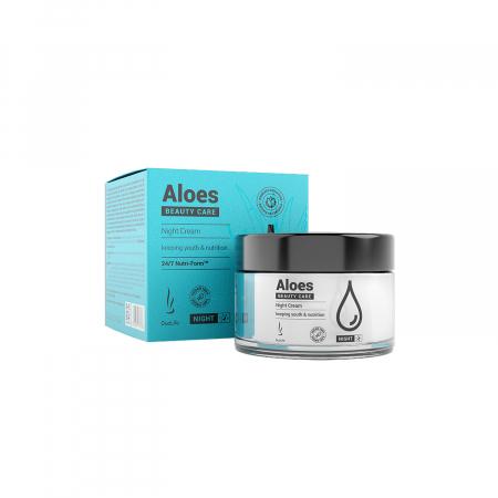 Crema de noapte Aloes DuoLife Beauty Care 50 ml