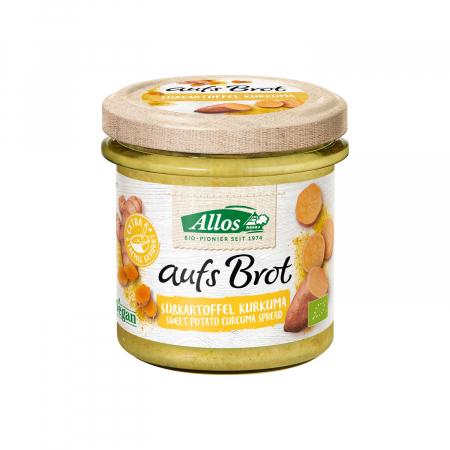 Crema tartinabila din cartof dulce si curcuma FARA GLUTEN 140g [0]