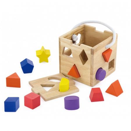 Cub sortator din lemn [0]