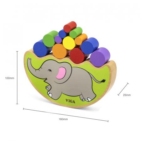 Elefantul echilibrist – joc de indemanare [4]