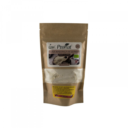 Faina integrala BIO de quinoa FARA GLUTEN, 250g [0]