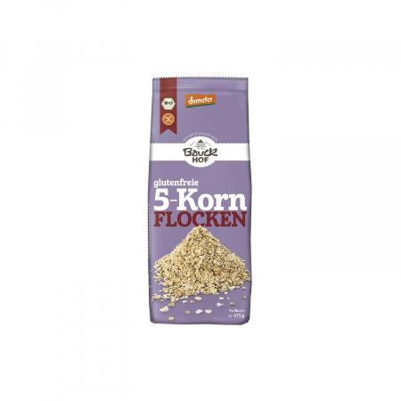 Fulgi din 5 cereale FARA GLUTEN 475g [0]