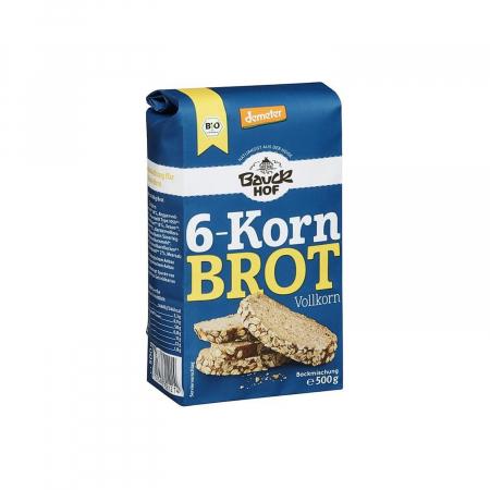 Mix de faina pentru paine integrala cu 6 cereale 500g [0]