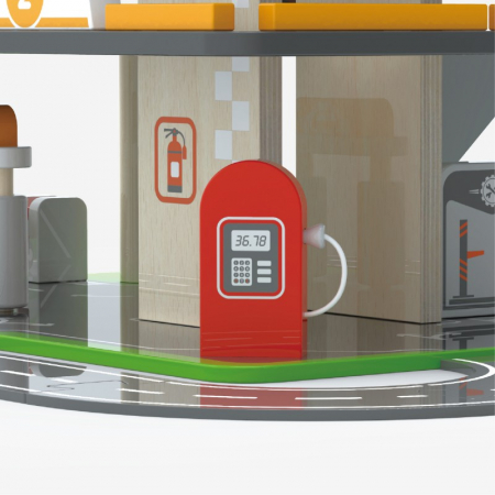 Parcare supraetajata cu benzinarie si heliport [5]