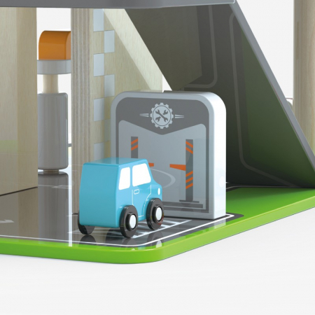 Parcare supraetajata cu benzinarie si heliport [6]