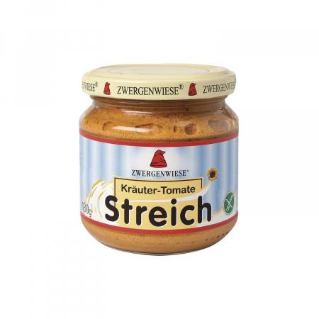 Pate vegetal cu ierburi aromate si tomate FARA GLUTEN Zwergenwiese 180g [0]