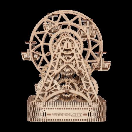 Puzzle 3D din lemn - Ferris Wheel [6]