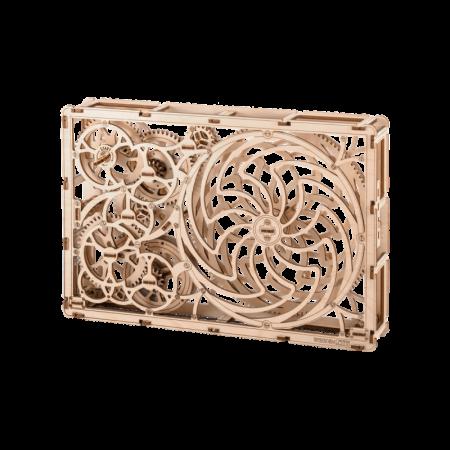 Puzzle 3D din lemn - Tablou iluzie optica (Kinetic Picture) [6]