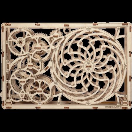Puzzle 3D din lemn - Tablou iluzie optica (Kinetic Picture) [1]