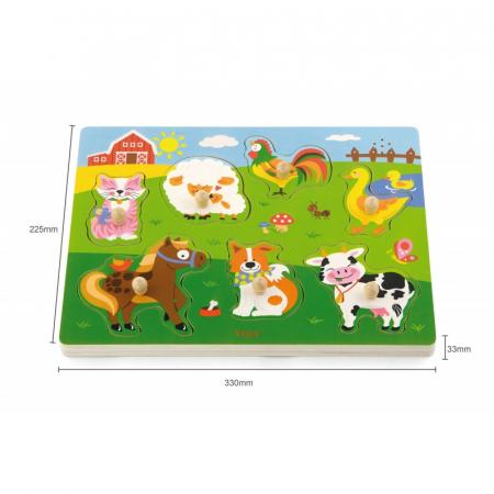 Puzzle cu sunete - animale [4]