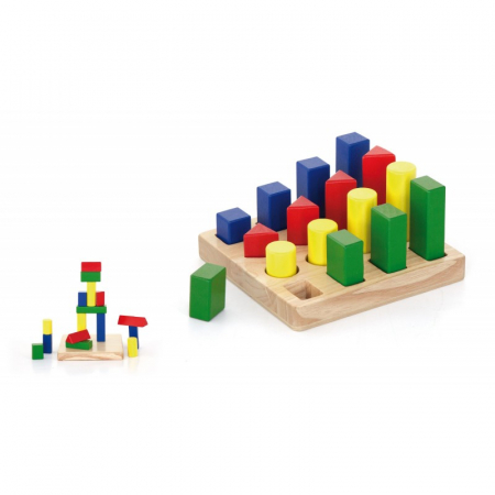 Puzzle sortator 4 forme geometrice [0]