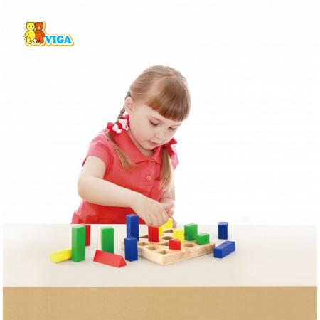 Puzzle sortator 4 forme geometrice [4]