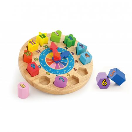 Puzzle sortator cu ceas [3]
