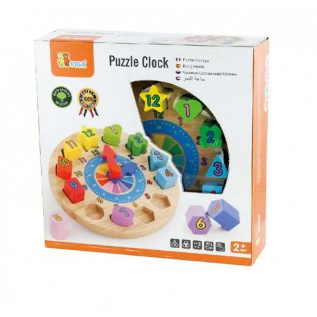 Puzzle sortator cu ceas [1]