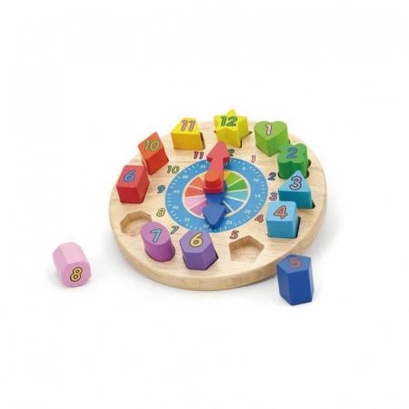 Puzzle sortator cu ceas [0]