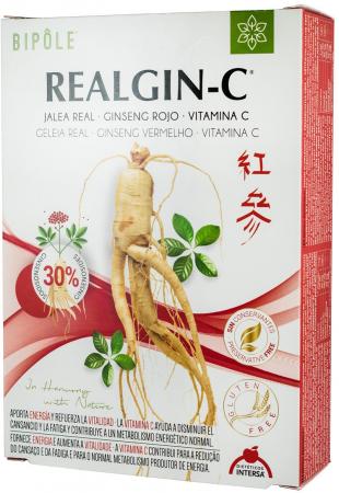 REALGIN-C - laptisor de matca, ginsenc rosu si Vitamina C, 20x10ML [0]
