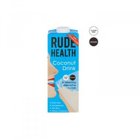 Rude Health bautura vegetala din cocos BIO 1l