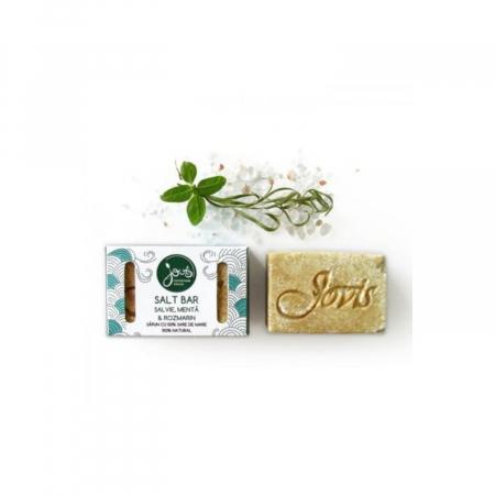 Salt bar- sapun cu 50% sare de mare, salvie, menta,rozmarin [1]